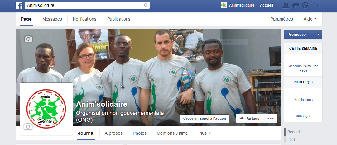 Page anim solidaire action terrain